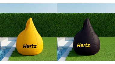 Right Direction Advertising Agency HERTZ ADV. Materials